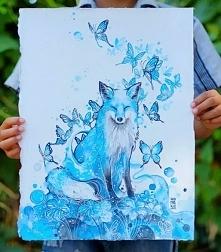 Fabulous Watercolor Painting by Luqman Reza Mulyono