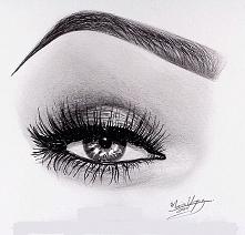 Może nie makijaż, ale rysunek odzwierciedlający makijaż :)