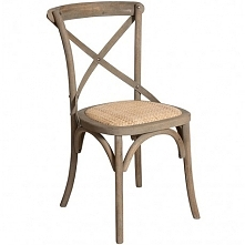 Stylowe i proste drewniane krzesło z serii Bari.