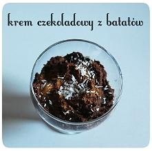 kliknij w zdjęcie po przepis na pyszny krem czekoladowy ...ze słodkich ziemniaków! P.S.*śmietanką kokosową można zastąpić zwykłą :)