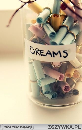 Słoik marzeń :)