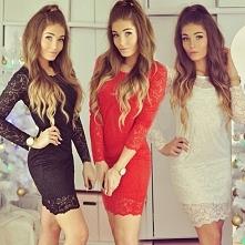 Koronkowa sukienka --> f...