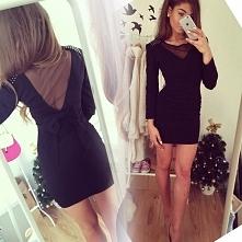 Seksowna sukienka z kokardą --> fashionata.pl