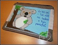 Ręcznie wykonane (szyte i malowane) etui na tablet, na zamówienie.  Na blogu ...
