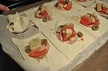 Sakiewki z ciasta francuskiego  Antolka Jakuszkowa   20:19   ciasto francuskie  , ciasto francuskie przepis  , ciasto francuskie przepisy  , Przekąski i przystawki  , przystawki...