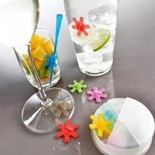 Znaczniki silikonowe do szklanek (12 sztuk) - Mastrad