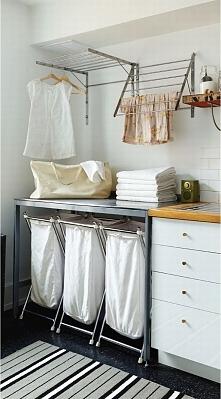 Organizacja miejsca w pralni to podstawa dobrego funkcjonowania tego pomieszczenia w Twoim domu. Wygodna pralnia to pralnia kompaktowa, w której niczego nie zabraknie - miejsce ...