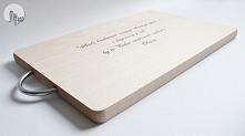 Deska kuchenna z twoim tekstem
