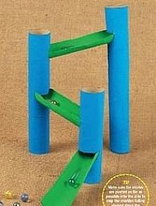 zabawka z rolek od papieru <3