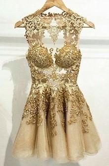 Gold/dress