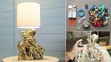 Genialny pomysł na ozdobienie lampy !!!  Świetna na prezent dla naszego HERO :D