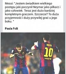 Leo o Neymarze *-*