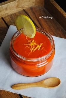 Kisiel marchwiowo-pomarańcz...