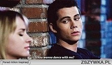 you wanna dance with me ?