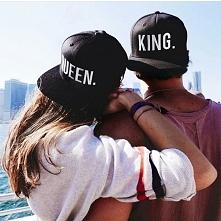SHOCK.COM.PL snapback KING i QUEEN dla par zakochanych - świetny pomysł na pr...