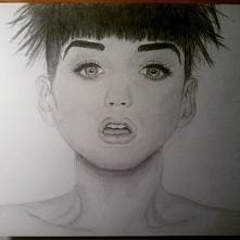 Katy Perry, szkic