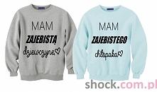 Bluzy dla dwojga na Walentynki ; zabawne bluzy dla par na prezent z nadrukiem...