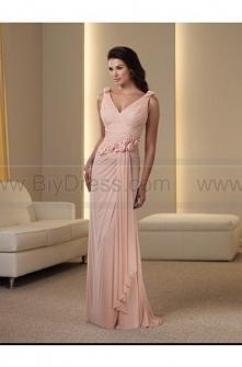V Neck Asym Pink Long Flower Trimed Evening Dress Online  $174.41(61% off)  2016 evening dresses,plus size evening dresses,cheap evening dresses,evening dress prices,evening dre...