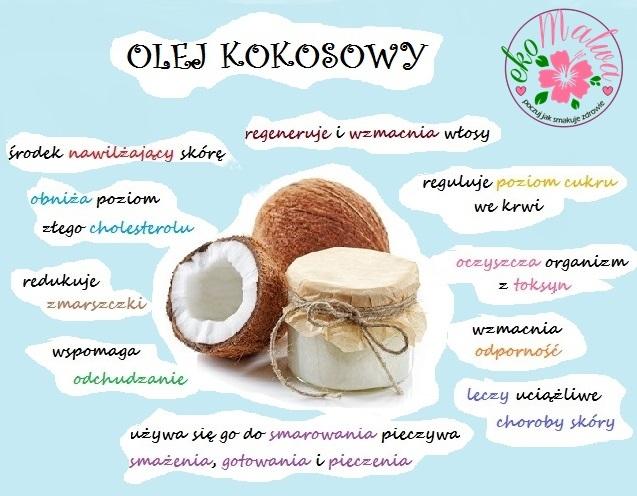 I jak tu nie lubić oleju kokosowego? :)