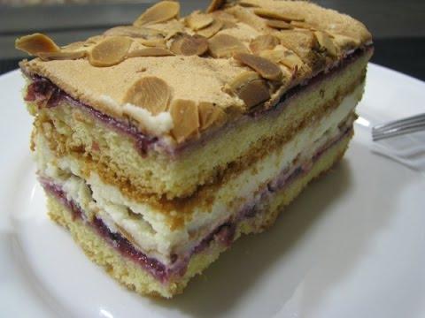 "Торт ""Пани Валевская""// Placek ""Pani Walewska"""