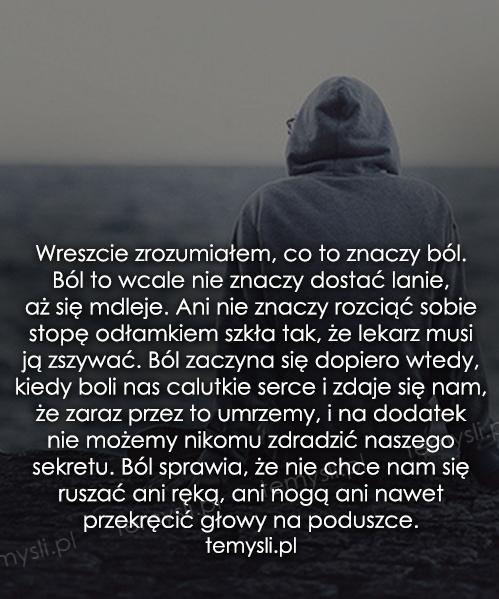 ból cytaty ból  na Cytaty   Zszywka.pl ból cytaty