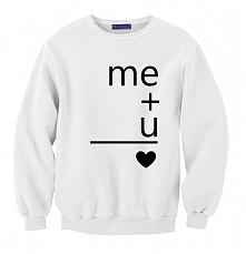 bluza ME+u = <3 dla par ...