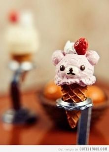 Deser lodowy - miś (mini wersja) ♥