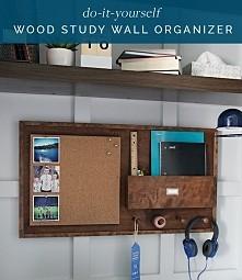 DIY study wall