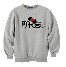 bluza MRS myszka miki ; modna bluza DLA PAR z kompletu bluzy mrs i mr myszka ...