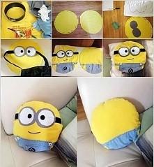 DIY - poduszeczka minionek