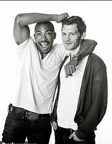 Klaus i Marcel <3