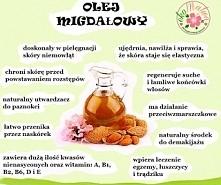 Stosujecie olejek ze słodkich migdałów? Jeśli nie to zobaczcie ile on daje naszej skórze korzyści :)