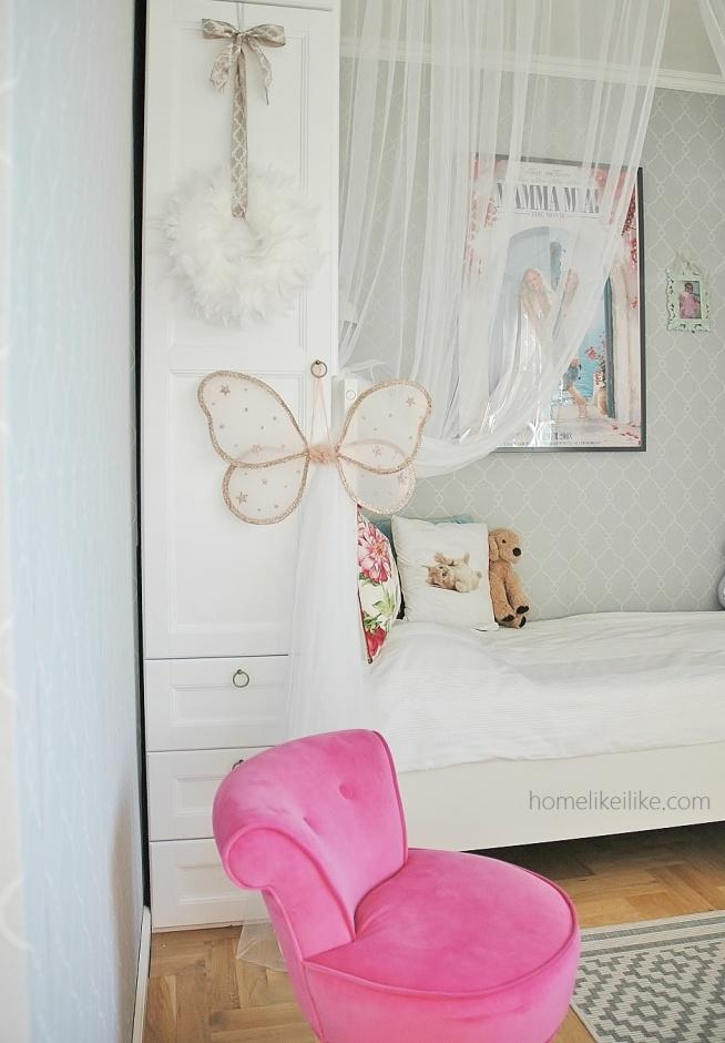 Homelikeilikecom Pokój Dziewczynki Zabudowa łóżka Z