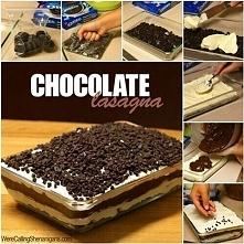 CZEKOLADOWA LAZANIA ! 1 opakowanie ciasteczek Oreo lub innych czekoladowych (...