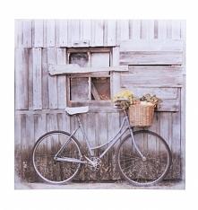 Obraz na ścianę z rowerem w stylu retro. Piękna dekoracja do powieszenia na ś...