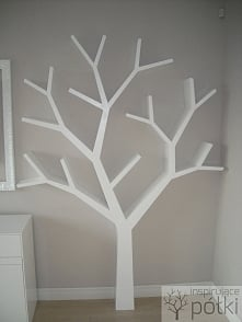 Półka drzewo 210x150x18cm. Moja realizacja inspirujacepolki marcin.stelma@gmail.com