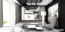 aranżacja wnętrza salonu w apartamencie | IT'S MISS, ACTUALLY