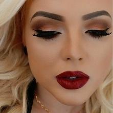 piękny makijaż♥