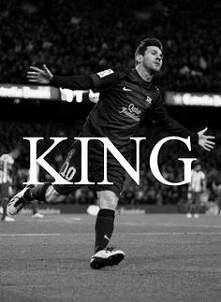 King Messi <3  Geniusz... Mistrz ^^