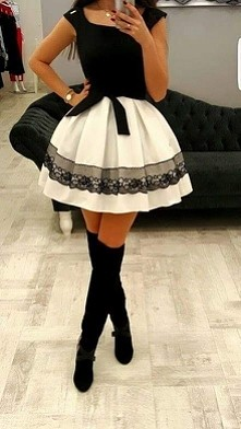 moja sukienka na studniówkę :)