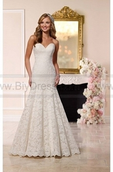 Stella York Fit-And-Flare Wedding Dress Style 6218  $459.00(54% off)  2016 wedding dress,cheap wedding dresses online,plus size wedding dresses,wedding dress for sale,wedding dr...