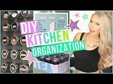 DIY Kitchen Organization Ideas!