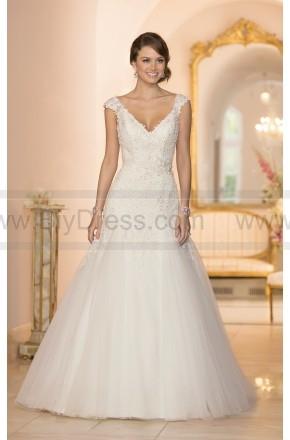 Stella York Cap Sleeve Wedding Dress Style 5949  $469.00(50% off)  2016 wedding dress,cheap wedding dresses online,plus size wedding dresses,wedding dress for sale,wedding dress prices
