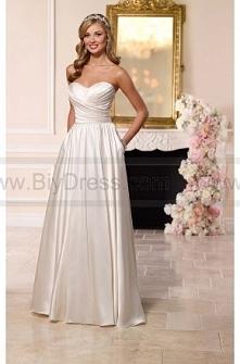 Stella York Satin Wedding Dress Style 6201  $279.00(56% off)  2016 wedding dress,cheap wedding dresses online,plus size wedding dresses,wedding dress for sale,wedding dress prices