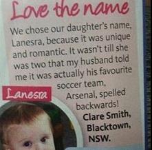 Matce podobało się imię cór...