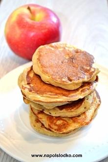 Rewelacyjne pełnoziarniste placki z jabłkami bez cukru!