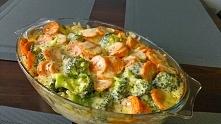 Zapiekanka z warzywami i mielonym