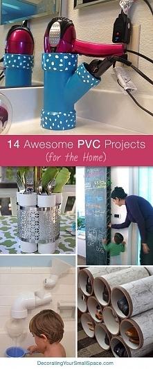 co można zrobić z rurek PCV