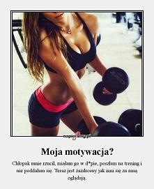 każdy powód jest dobry by zacząć ćwiczyć ;))