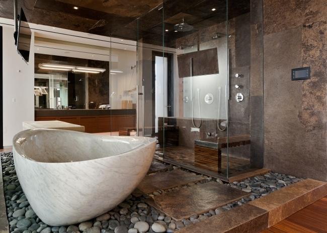 Nowoczesna łazienka Czyli Wnętrze Nowoczesnej łazienki W Willi Na